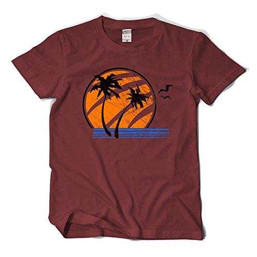 Fuman The Last of Us T-Shirt Ellie Cosplay Kostüm Weinrot L