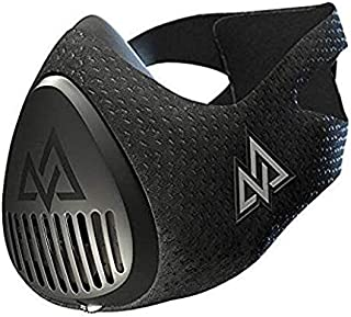 Training Mask 3.0 [All Black] Fitness Training Mask, Workout Mask, Running Mask, Breathing Mask, Resistance Mask, Cardio Mask, Endurance Mask for Fitness
