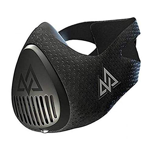 Máscara de entrenamiento 3.0[Todos los negro] Máscara de entrenamiento de fitness, máscara, máscara de máscara de running, máscara de respiración, resistencia, cardio máscara máscara, resistencia de entrenamiento para fitness