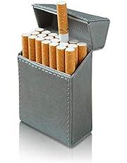 タバコケース メンズ (レザー製) 【 マグネット式でラクラク開閉! キングサイズ20本収納! 】 シガレットケース たばこケース シガーケース たばこ ケース プレゼント 【ZEROSIX】