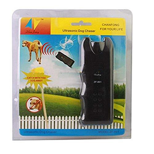Cazador de perros ultrasónico, autodefensa, seguridad, lobo, detiene los ataques de animales agresivos, repelente de disuasión, defensa, palo de linterna