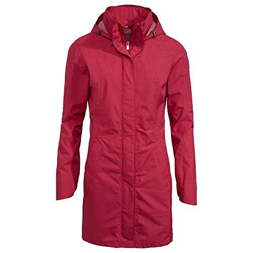 VAUDE Manteau de pluie Kapsiki II pour femme M Red Cluster.