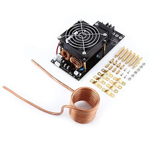 Calentador de interacción, placa calefactora DC12-36V 20A, ZVS 1000W con tubo de cobre Fundido de aluminio para fundido de cobre Fundido de oro fundido de plata