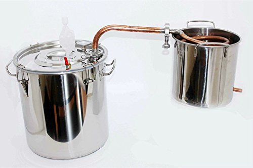 20~70 litros destilador de agua acero inoxidable/cobre aceites esenciales alambique destilador de...