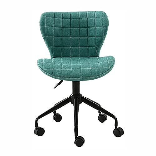 Liegestühle Drehstuhl Leinen, Ergonomischer Schreibtischstuhl Executive Chair Lifting Adjust, Home Office Stuhl Mit Fächerförmiger Rückenlehne, Home Office Wohnzimmer
