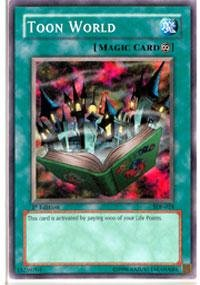Yu-Gi-Oh! - Toon World (SDP-024) - Starter Deck Pegasus - Unlimited Edition - Common