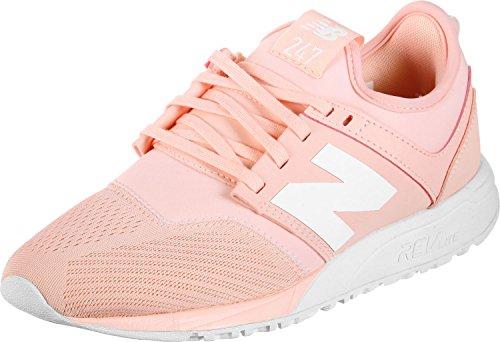 New Balance Damen WRL247-EM-B Sneaker, Pink (Himalayan Pink/White Em), 38 EU