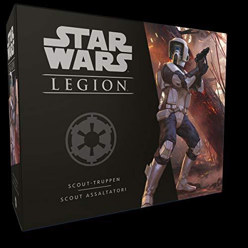 Star Wars: Legion - Scout-Truppen (deutsche Ausgabe) FFGD4614 Board Game & Extension, Mehrfarbig