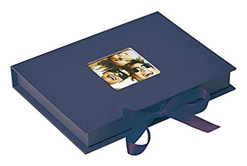 Walther Fun FB-112-L Scatola portafoto, per fino a 70 foto formato 13x18 cm, colore: Blu