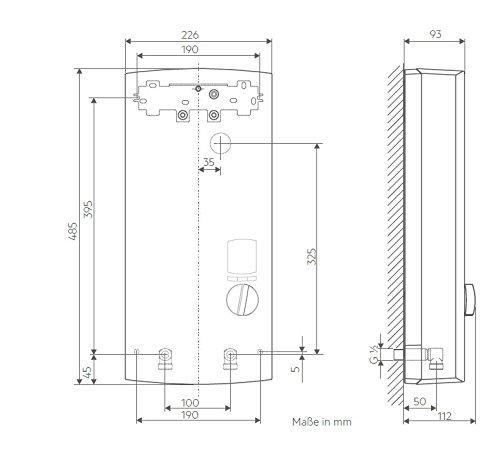 AEG vollelektronischer Durchlauferhitzer DDLE ÖKO TD, 27 kW, LCD, ECO-Funktion, Regendusche, 222399 - 6