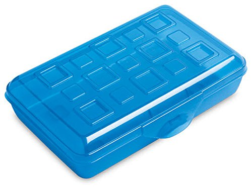Small Pencil Box - Blue - Pack of 12