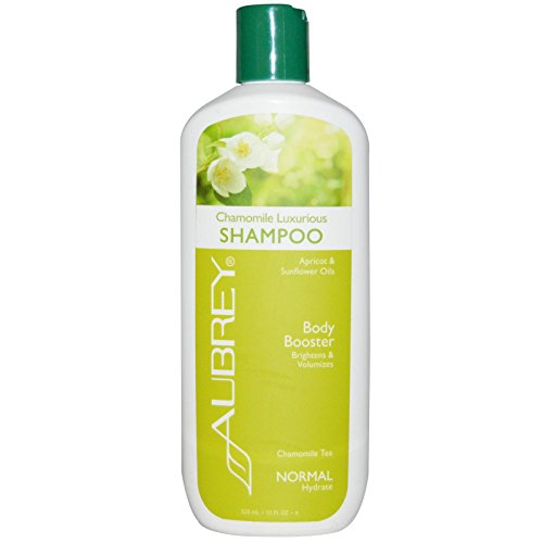 Aubrey Organics Shampoo Luxurious Body Booster Kamille Tee