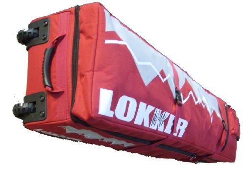 Lokker Twin Deck Team Wheelie Snowboardtasche