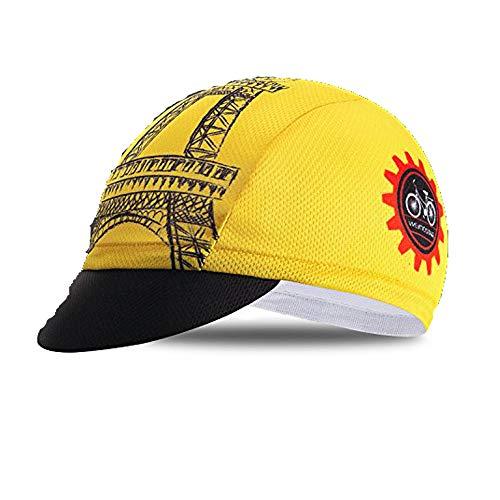 Radkappen Team Herren Kopfbedeckung Sonne UV Hut MTB Fahrrad Team Helm Innenkappe Gr. Einheitsgröße, CD2412