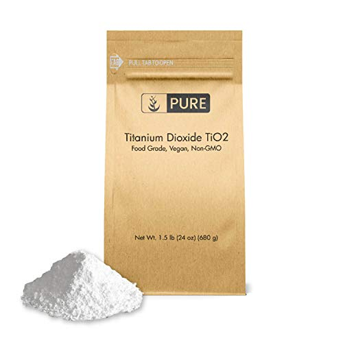 Titanium Dioxide TiO2 (1.5 lb.), Eco-Friendly Packaging, Naturally Occurring Mineral