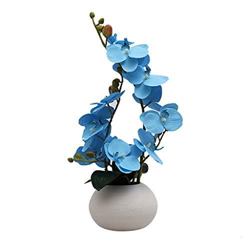 YSMLL Oficina de cerámica Decoración de la decoración Decoración del Vino Decoración del Escritorio Simple Flower Florero