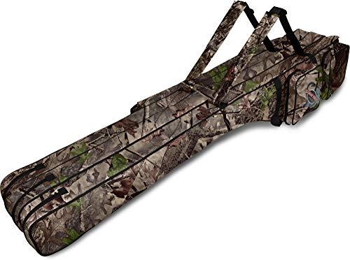normani Lange Rutentasche 190 cm RodBox Triple - 3 Fächer für 6 Steckruten Farbe Hunting Camo