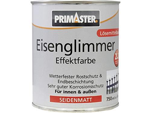 Primaster Eisenglimmer-Lack Eisenglimmerfarbe silber schnelltrocknend