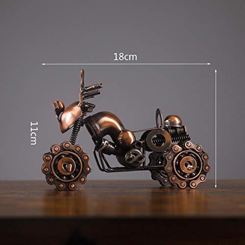Fslt creatieve ornamenten retro metaal handwerk motorfiets patroon decoratie handwerk huisdecoratie bar club Quad Bike