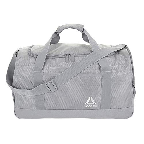 Reebok Garnet Large Gym Bag for Men and Women, Versatile Sports Duffle Bag
