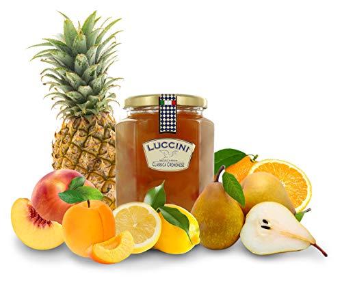 Luccini Mostarda Handarbeit, klassisch, cremonesisch, 950 g, Mostarde - Früchte höchster Qualität