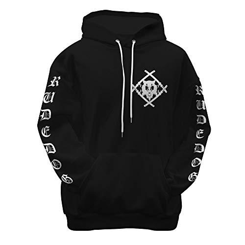 Alyna Billy Xavier Wulf Merch Rude Dog Logo Black Men Women 3D Digital Merch Kid, Youth - T Shirt, Hoodie, Sweatshirt