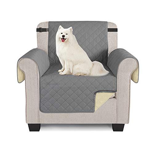 TAOCOCO Sofabezug, wasserdicht, Sofaüberwurf für Sofas und Sofas 1 posti 56*190cm grau