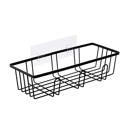 GOTOTOP /Étag/ère de Rangement en Fer Style R/étro 4 Couches Noir pour Cuisine Jardin Salle dEtude Salle de Bain etc