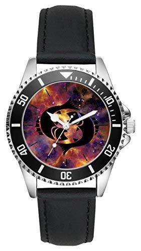 Geschenk für Fische Horoskop Sternzeichen Uhr L-6171