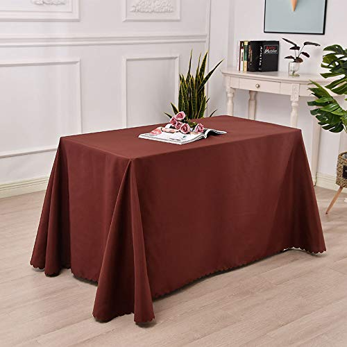 LIUJIU Paño de mesa, Cubierta de tela de fibra de poliéster para boda/banquete/restaurante/banquete, 180x320cm