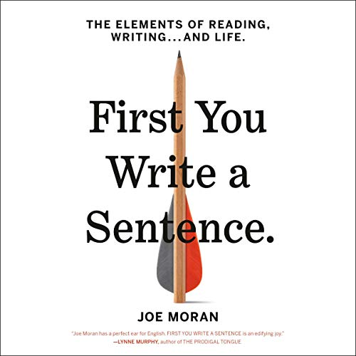 First You Write a Sentence audiobook cover art