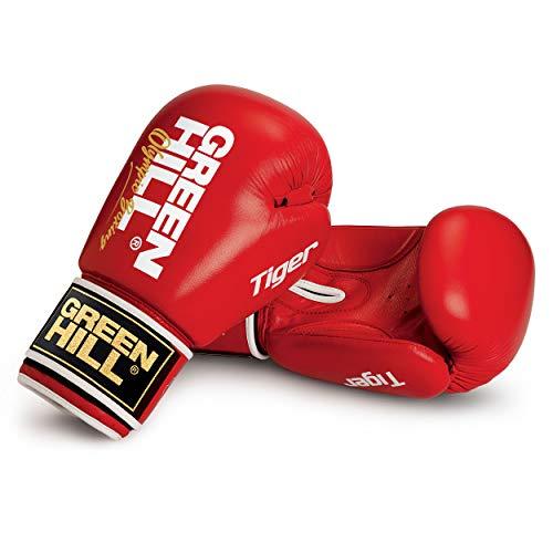 Green Hill Tiger Target - Guantes de Boxeo, Color Rojo,...
