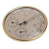 elegantstunning - Termometro da parete ad alta precisione, con barometro, igrometro, misur...