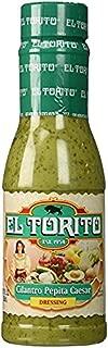 El Torito Salad Dressing Cilantro Pepita Caesar (4 bottles)
