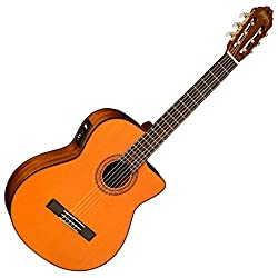 Best Acoustic Electric Guitar under 200 US Dollars - Washburn Classical Series C5CE