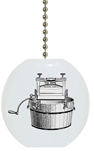 Wringer Washing Bucket Laundry Solid Ceramic Fan Pull