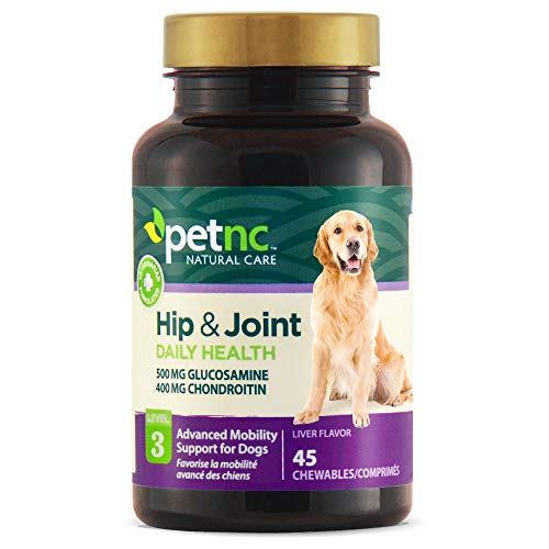 PetNC Natural Care Hip and Joint Health Advanced Chewables for Dogs,...
