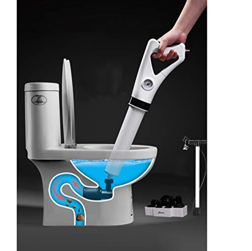Drain schonere toiletten lucht ram krachtige drain zuignap zuiger sterkste prestaties voor wc verstopping drainage fles met zuignappen Art Multifunctionele,White