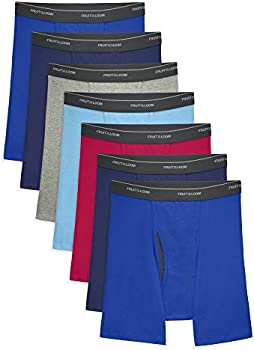 7-Pack Fruit of the Loom Men's Coolzone Boxer Briefs