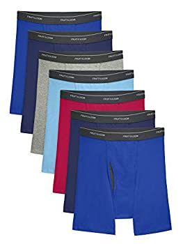 Fruit of the Loom Men s Coolzone Boxer Briefs 7 Pack-Assorted Colors Large