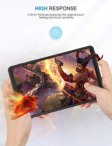[3-Pack] SPARIN Screen Protector Compatible with Samsung Galaxy Tab A 8.4, 9H Hardness Tempered Glass Screen Protector,High Definition,Scratch Resistant, Easy Installation