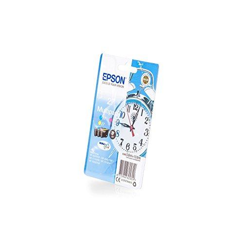 Epson Original C13T27054012 / 27, für Workforce WF-7715 DWF 3X Premium Drucker-Patrone, Cyan, Magenta, Gelb, 3x350 Seiten
