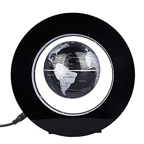 Mappamondo levitazione magnetica,globo galleggiante di levitazione magnetica gira del mappa del mondo utilizzare come decorazione del scrivania della casa o da ufficio
