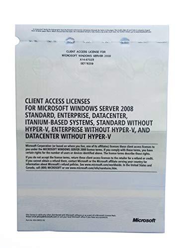 Windows Server 2008 RDS TS Remote Desktop Services: 100 User/Device CALS Licences - Terminal Services - OEM