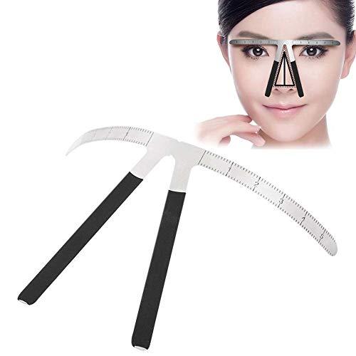 Tatouage Sourcils Pochoir Positionnement en Trois Points Permanent Maquillage Symétrique Réutilisable Shaper Toilettage Calibre de Mesures