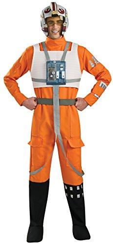 Rubie's Star Wars A New Hope X-Wing Pilot, As Shown, Medium