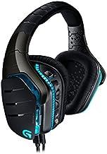 Logitech G633 Artemis Spectrum - Auriculares para gaming de diademas cerrados (20 Hz-20 kHz, 39 Ω, USB, 3.5 mm, micrófono, para PC, Xbox One y PS4), negro y azul