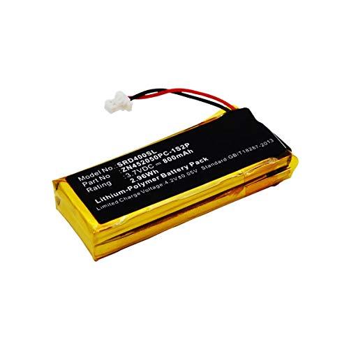 subtel® Batería de Repuesto BAT00002, BAT00004, WW452050-2P, ZN452050PC-1S2P para Cardo Scala Rider G4 Scala Rider G9 Scala Rider G9X, Accu Auriculares inalambricos 800mAh
