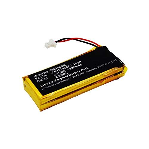 subtel® Batería Premium Compatible con Cardo Scala Rider G4 Scala Rider G9 Scala Rider G9X, BAT00002, BAT00004, WW452050-2P, ZN452050PC-1S2P 800mAh Pila Repuesto bateria
