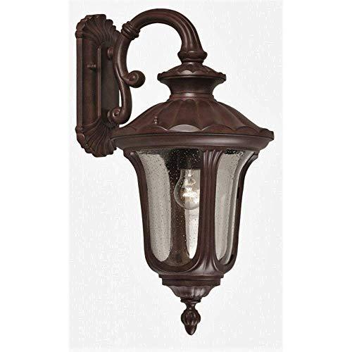 Wandlantaarn 1-lamp Chicago Grootte: 58,5 cm H x 28 cm W x 32,5 cm D